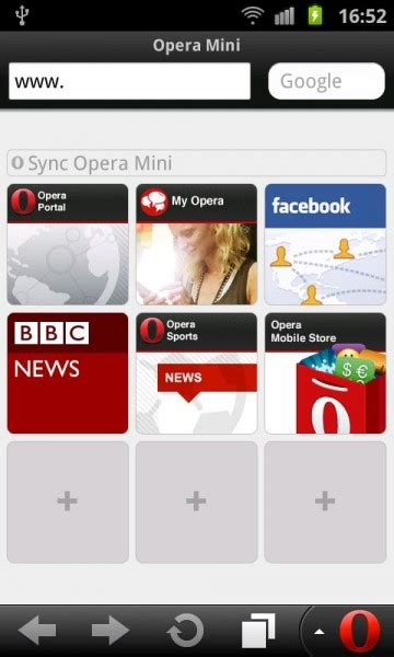 apps opera mini 6 5 opera mobile 11 5 for android