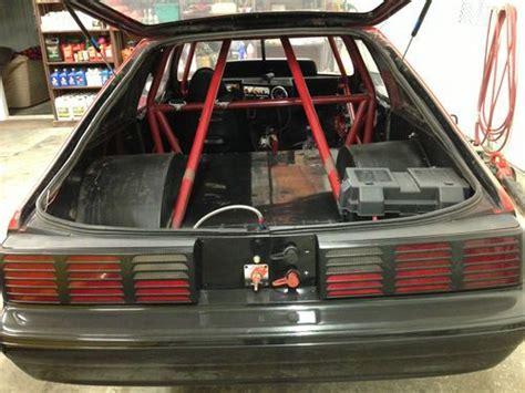 purchase  tk  ford fox body mustang drag car  sec