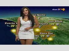 Susana Almeida, la Miss Météo mexicaine qui porte une