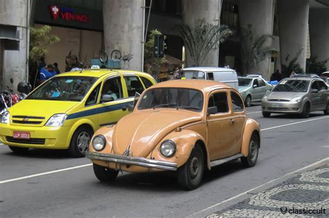 brazil volkswagen vw fusca beetle on rio de janeiro streets brazil classiccult