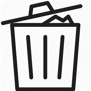 Bin, delete, garbage, recycle, recycle bin, remove, trash ...