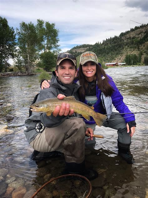 trump donald jr fishing river montana yesterday
