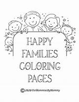 Coloring Pages Happy Printable Members sketch template