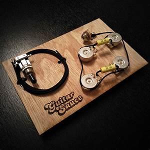 Premium Les Paul Guitar Wiring Kit