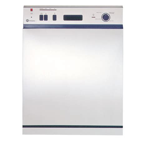 zbdyss ge monogram stainless steel dishwasher  stainless steel interior   hour