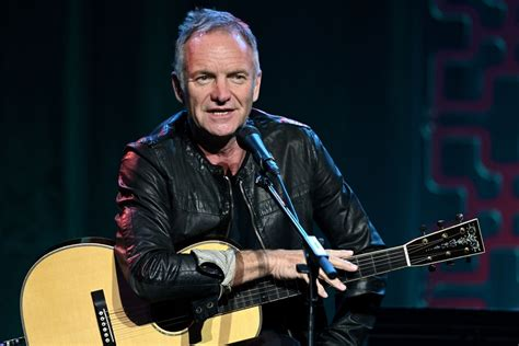 He received his name from a striped sweater he wore which looked like a bee. Sting Performs 'Don't Stand So Close To Me' With The Roots ...