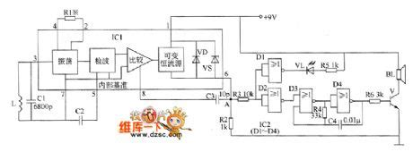 Metal Detector Circuit Diagram Basic