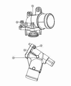 Jeep Grand Cherokee Housing  Thermostat  Includes Thermostat  Diesel  Related  Filter