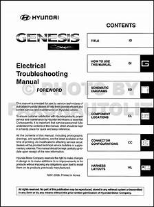 2010 Hyundai Genesis Coupe Electrical Troubleshooting