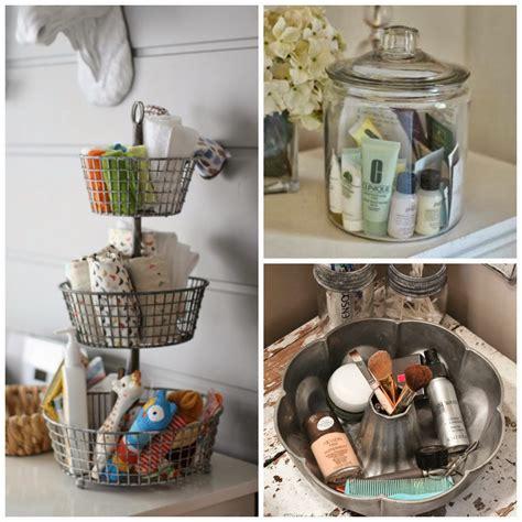 craftivity designs  week organizing challenge bathroom