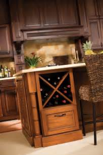 wine racks coffee bar storage dura supreme cabinetry