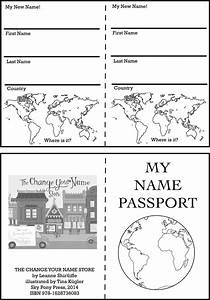 free coloring pages of passport template With printable passport template for kids