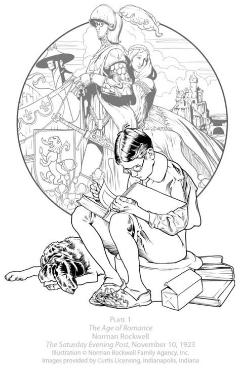 norman rockwell coloring pages   coloring pages norman rockwell rockwell