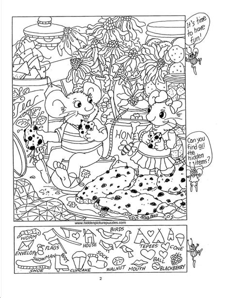 hidden picture puzzles  kids hidden picture