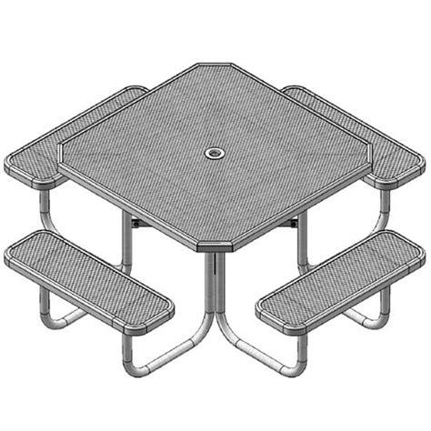 ultraplay octagon outdoor picnic table 358 o picnic