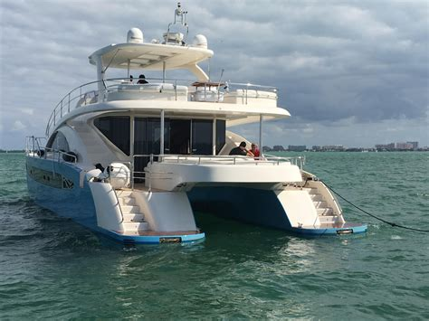 Power Catamaran For Sale In Florida by 2007 Used Rodriquez Power Cat Power Catamaran Boat For