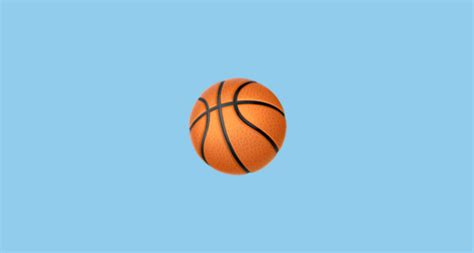 basketball emoji  apple ios