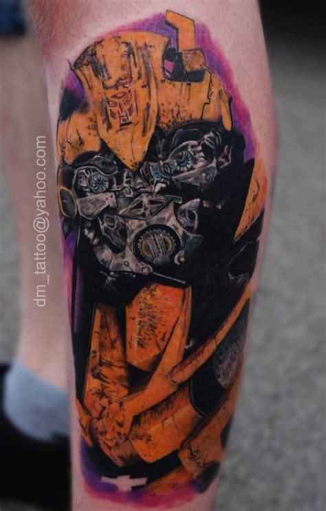 bumblebee transformer tattoos
