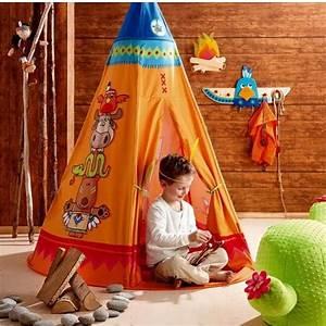 Tipi Indien Enfant : tente de jeu tipi jeux et jouets haba avenue des jeux ~ Melissatoandfro.com Idées de Décoration