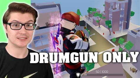 drumgun   strucid roblox fortnite youtube