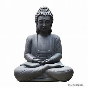 Statue De Bouddha : statue de bouddha assis grand mod le desjardins ~ Teatrodelosmanantiales.com Idées de Décoration