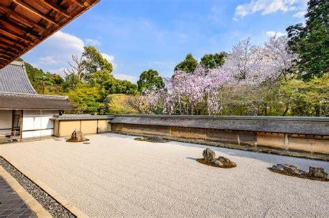 zen garden kyoto japan ji ryoan temple ryoanji osaka rock japanese tokyo tour gardens aesthetics kinkaku famous finest its spring