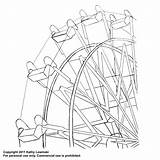 Ferris Wheel Embroidery Pattern Flickr Coloring Template Patterns Drawing Pages Wheels Colouring Craft Sketch Templates Tattoo Designs Justcraftyenough Week sketch template