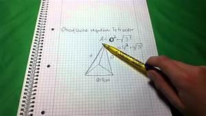 Volumen Eines Kreises Berechnen : oberfl che eines tetraeders berechnen so geht 39 s youtube ~ Themetempest.com Abrechnung