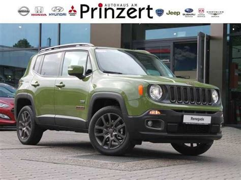 green jeep renegade jeep renegade jungle green dach zu verkaufen