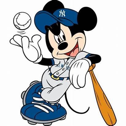 Mickey Mouse Minnie York Cartoon Disney Yankee