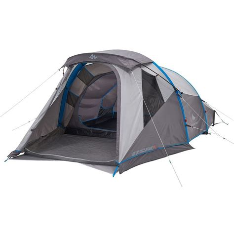 tente 4 places 2 chambres seconds family 4 2 xl air seconds family 4 decathlon