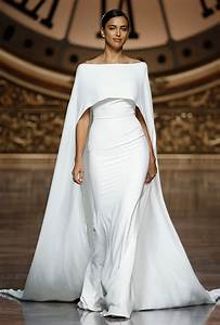 favorite wedding dresses from barcelona bridal week With wedding dress with cape