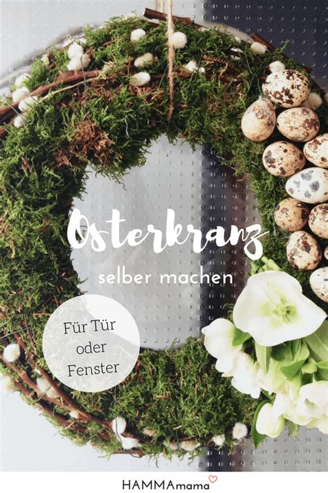 Dekoration Für Ostern by Kranz F 252 R Die Haust 252 R F 252 R Ostern Selber Machen Dekoration