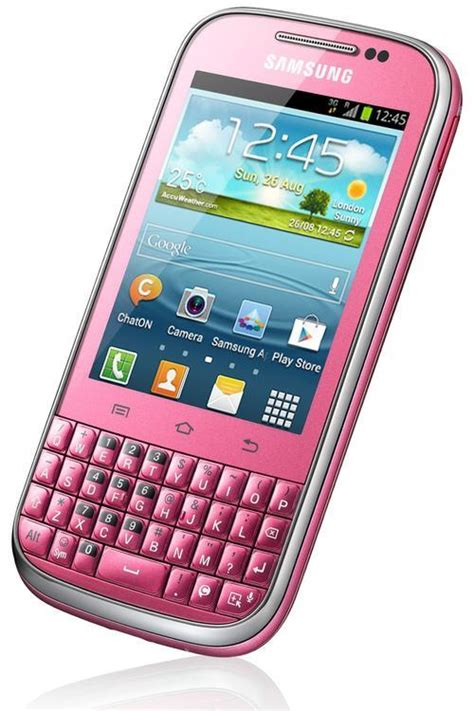 samsung samsung galaxy chat b5330 pink new local open to all network was sold for r999 00 9