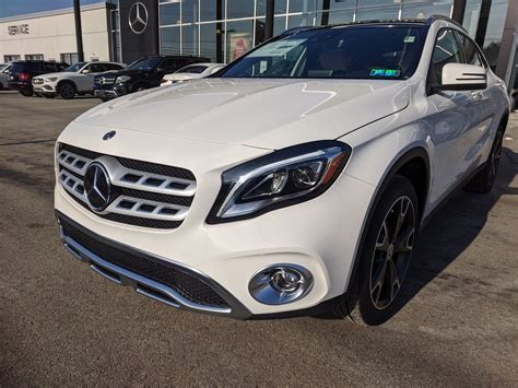 Find out what these beauties offer! New 2020 Mercedes-Benz GLA GLA 250 Sport Utility in Greensburg #B02258 | Bud Smail Motorcars, LTD