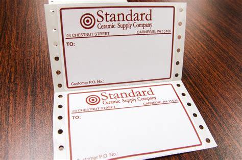 pin fed labels custom labels alpine packaging