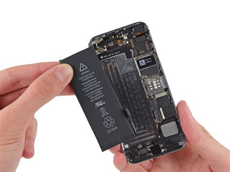 iphone se battery replacement ifixit repair guide