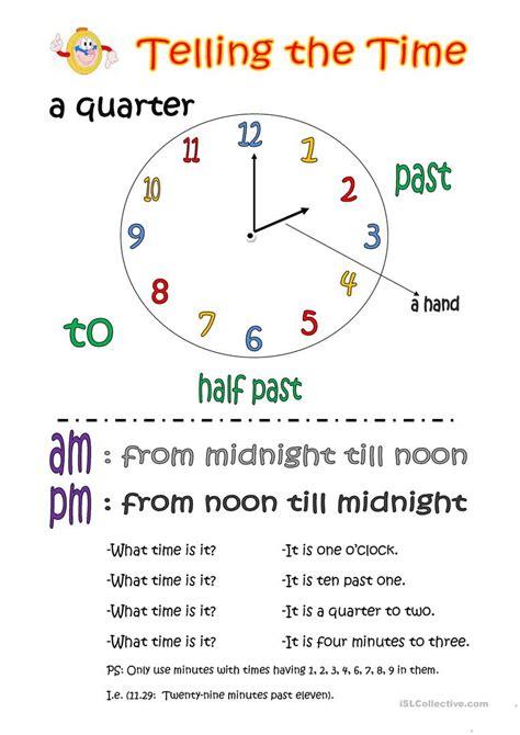 worksheet time flashcards grass fedjp worksheet study site