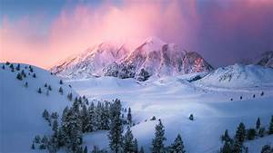 Snow, Mountains, Landscape, Wallpapers, Hd, Desktop, And