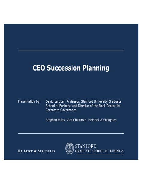 Executive Succession Planning Template by Ceo Succession Planning Template Free