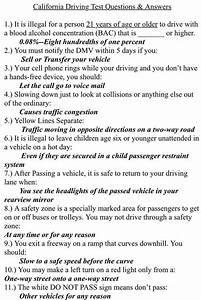 Dmv California Class C Study Guide Driver U2019s License