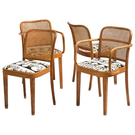 set of four 1920s bentwood quot prague chairs quot designed by