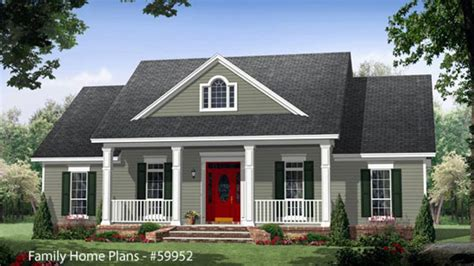 country house plans  front porch country house plans