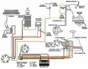 Mercury Ignition Switch Wiring Diagram