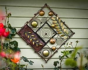 Wanddeko Für Garten : 46 ideen f r gartendeko rost da die natur am besten ~ Watch28wear.com Haus und Dekorationen
