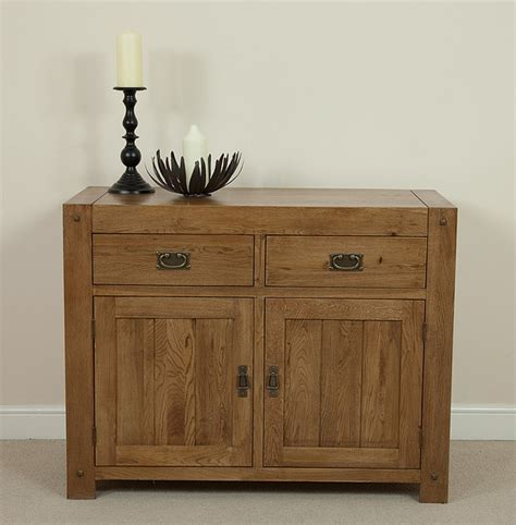 Oak Furniture Land Sideboards by Quercus Rustic Solid Oak Small Sideboard Oak Furniture Land