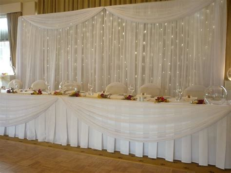 Table Draping - 6 ways to use pipe drape at weddings lakes region tent