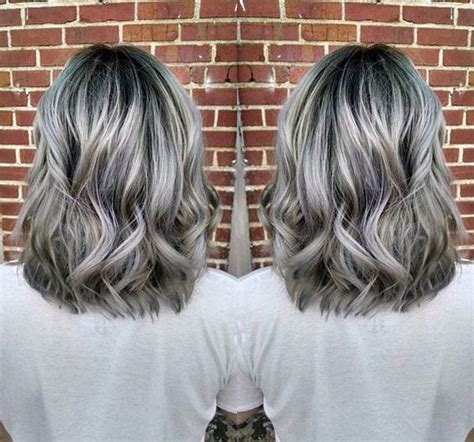 hair color gray 6 hair colors to try out glam radar
