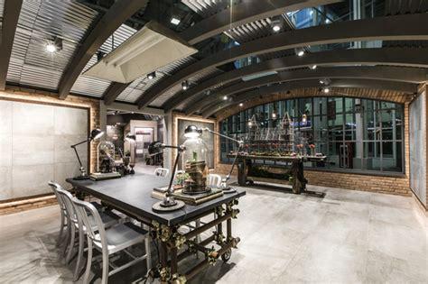 salon cuisinez verrière industrielle style industriel