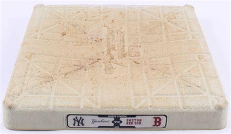 2013 Yankees vs Red Sox Logo Game-Used Third Base (MLB ...